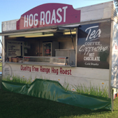 Reade Caterers hog roast stall